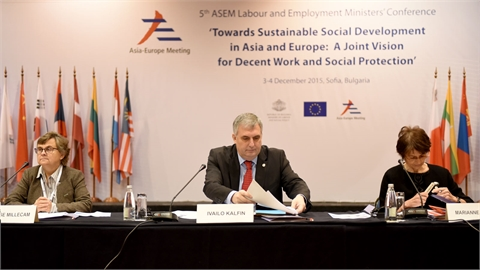 Fifth annual meeting of labour and employment ministers of member states along the Europe – Asia ASEM-LEMC dialogue